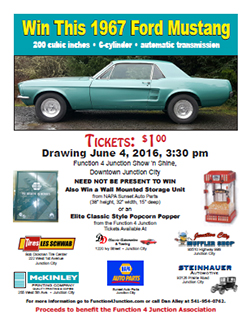 2016 Function 4 Junction Raffle